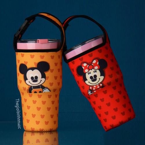 Túi Đựng Ly Yeti Chuột Mickey T25