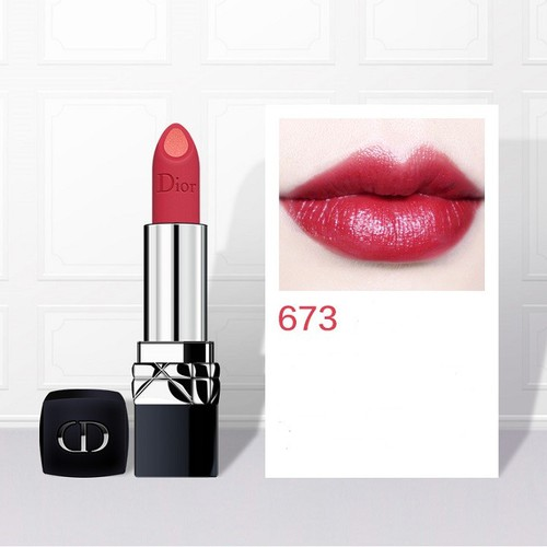 Son Dior Double Rouge 673 Pulsing Red màu đỏ hồng và hồng cam - 6737455 , 16756325 , 15_16756325 , 850000 , Son-Dior-Double-Rouge-673-Pulsing-Red-mau-do-hong-va-hong-cam-15_16756325 , sendo.vn , Son Dior Double Rouge 673 Pulsing Red màu đỏ hồng và hồng cam