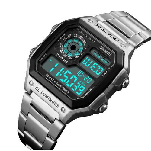 Đồng hồ SKmei điện tử dây thép đặc cao cấp