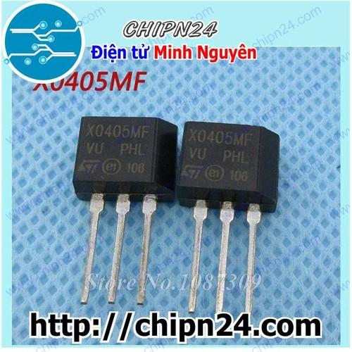 [2 CON] Thyristor SCR X0405 TO-220 3A 600V - 6738830 , 16757793 , 15_16757793 , 12000 , 2-CON-Thyristor-SCR-X0405-TO-220-3A-600V-15_16757793 , sendo.vn , [2 CON] Thyristor SCR X0405 TO-220 3A 600V