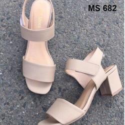 giày sandal cao gót đế vuông 7cm