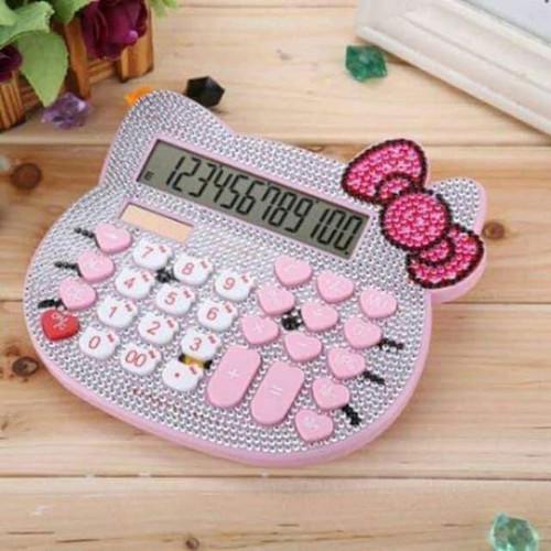 Máy tính Hello Kitty đính đá - 6749332 , 16765902 , 15_16765902 , 280000 , May-tinh-Hello-Kitty-dinh-da-15_16765902 , sendo.vn , Máy tính Hello Kitty đính đá