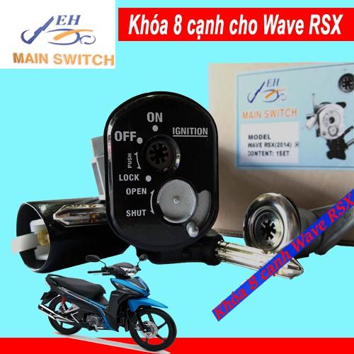 Khóa Chống Trộm 8 Cạnh Xe Wave RSX