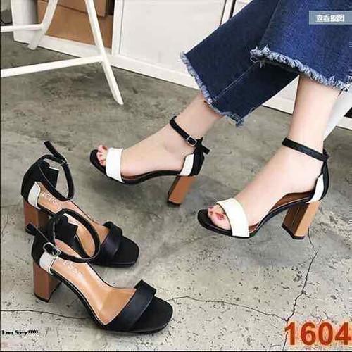 giày sandal cao gót phối màu cao 5 phân bao đẹp y hình - 6742306 , 16760278 , 15_16760278 , 230000 , giay-sandal-cao-got-phoi-mau-cao-5-phan-bao-dep-y-hinh-15_16760278 , sendo.vn , giày sandal cao gót phối màu cao 5 phân bao đẹp y hình