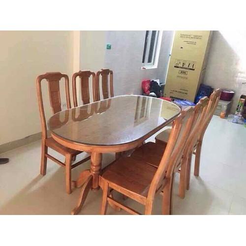 Bộ bàn ghế ăn bầu dục gỗ sồi Nga - 4759043 , 16751645 , 15_16751645 , 4300000 , Bo-ban-ghe-an-bau-duc-go-soi-Nga-15_16751645 , sendo.vn , Bộ bàn ghế ăn bầu dục gỗ sồi Nga