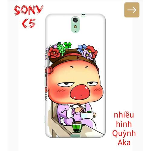 Ốp Lưng Sony C5 Nhiều Hình QuynhAka Bựa