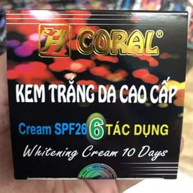 Kem Coral trắng da cao cấp 6 tác dụng - coraltrang
