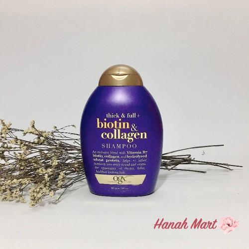 Cặp dầu gội và xả làm dày và mượt tóc Biotin Collagen 385ml
