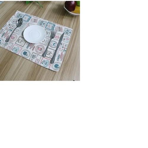Khăn lót bàn ăn canvas cafe