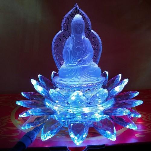 Tượng Phật Lưu Ly Đế Đèn Led Hoa Sen Cao Cấp - 4590968 , 16796366 , 15_16796366 , 1300000 , Tuong-Phat-Luu-Ly-De-Den-Led-Hoa-Sen-Cao-Cap-15_16796366 , sendo.vn , Tượng Phật Lưu Ly Đế Đèn Led Hoa Sen Cao Cấp