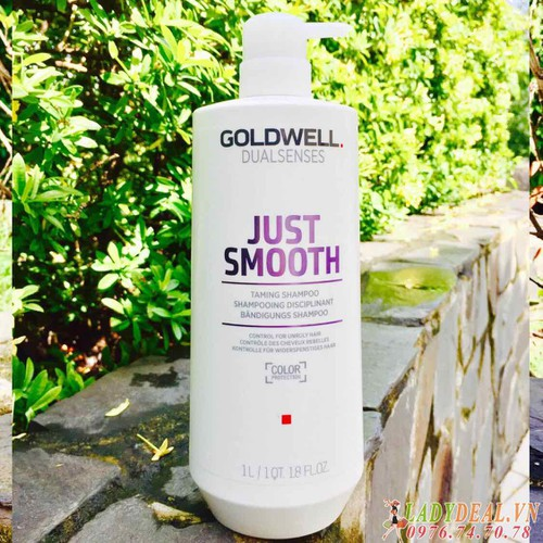 Dầu gội đầu Goldwell Just Smooth 1000ml - 6761194 , 16774902 , 15_16774902 , 670000 , Dau-goi-dau-Goldwell-Just-Smooth-1000ml-15_16774902 , sendo.vn , Dầu gội đầu Goldwell Just Smooth 1000ml