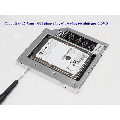 Caddy Bay 12.7mm - Nâng cấp ổ cứng cho laptop tốt nhất