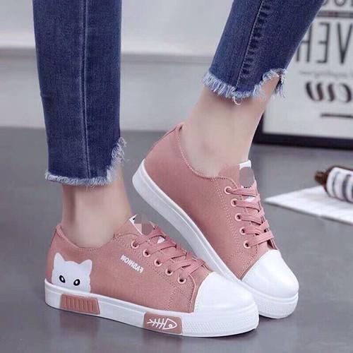 Giày sneaker nữ cổ thấp Mèo xinh siêu hot - 6759165 , 16772950 , 15_16772950 , 250000 , Giay-sneaker-nu-co-thap-Meo-xinh-sieu-hot-15_16772950 , sendo.vn , Giày sneaker nữ cổ thấp Mèo xinh siêu hot