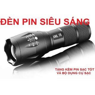 GIẢM SHIP 20K NGAY 10T10 Đèn pin dã ngoại mini tiện dụng - Đèn pin siêu sáng thumbnail