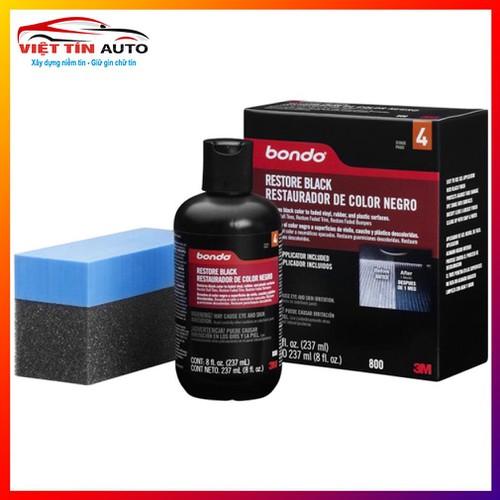 Dung Dịch Đánh Bóng Phục Hồi Nhựa Đen 3M™ Bondo Restore Black 237ml - 6784237 , 16795649 , 15_16795649 , 375000 , Dung-Dich-Danh-Bong-Phuc-Hoi-Nhua-Den-3M-Bondo-Restore-Black-237ml-15_16795649 , sendo.vn , Dung Dịch Đánh Bóng Phục Hồi Nhựa Đen 3M™ Bondo Restore Black 237ml