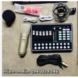 BỘ SOUND CARD BLUETOOTH H9 MICRO ISK AT-100 BẢO HÀNH 12 THÁNG