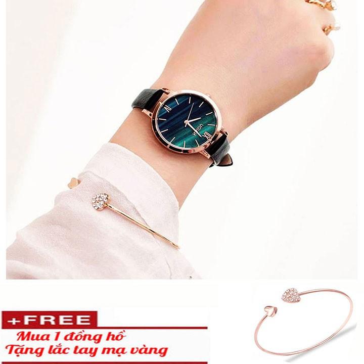 Đồng hồ nữ thời trang tặng vòng tay 1