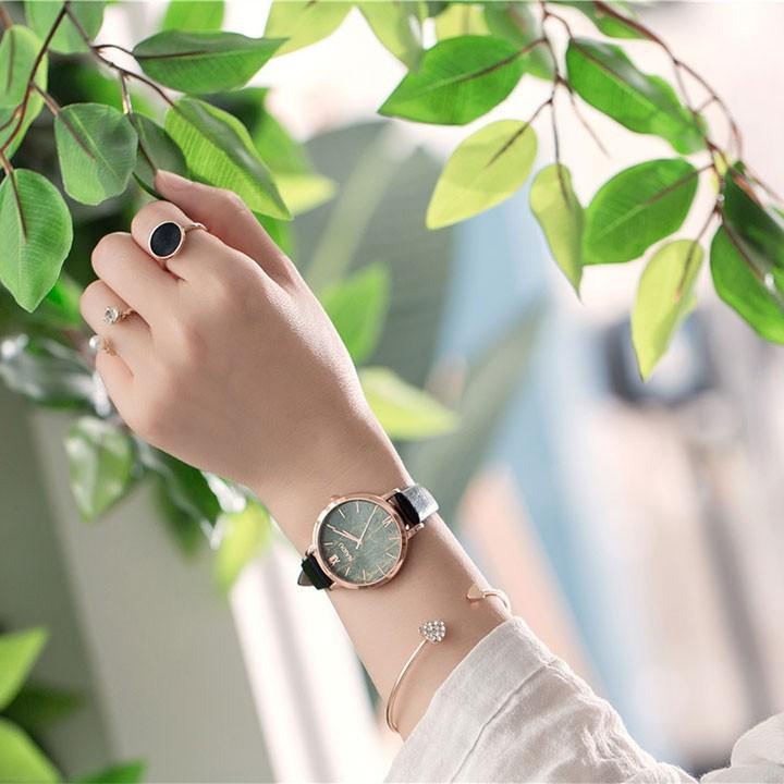 Đồng hồ nữ thời trang tặng vòng tay 4