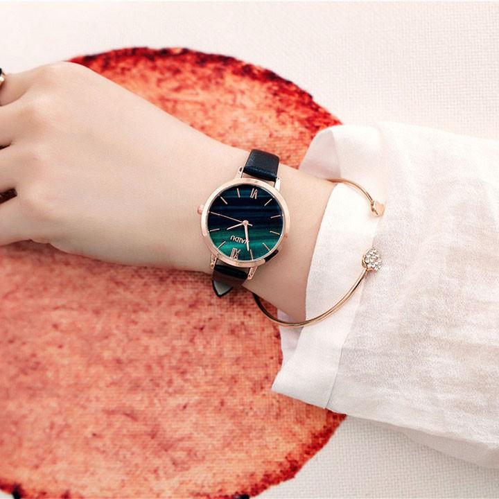 Đồng hồ nữ thời trang tặng vòng tay 6