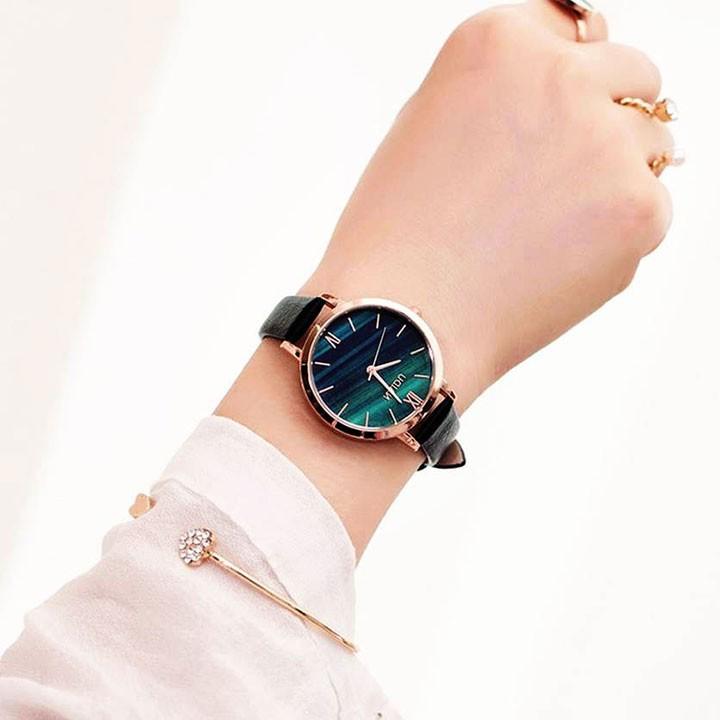 Đồng hồ nữ thời trang tặng vòng tay 2