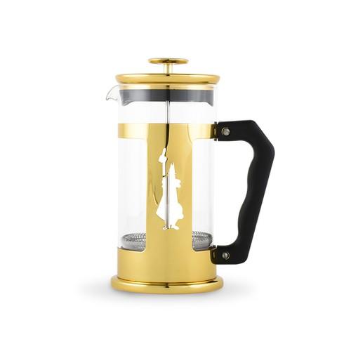 Bình pha cà phê Bialetti Press kiểu Pháp Preziosa Gold Collection phiên bản đặc biệt màu vàng 350ml - 0006840