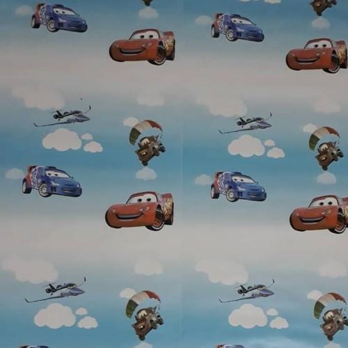 giấy dán tường xe hơi ba by cuộn 10m khổ rộng 45cm có keo dán sẵn