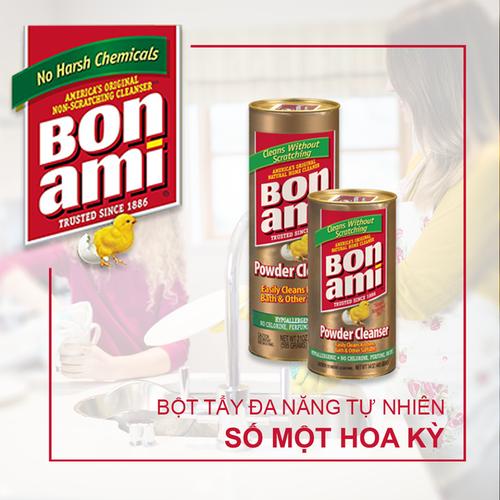 BON AMI Powder Cleanser -Bột Tấy Rửa Đa Năng Sinh Học tự nhiên USA