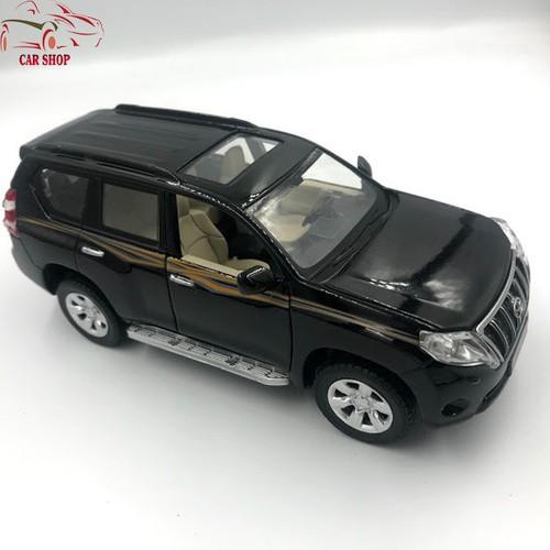 Xe mô hình hợp kim Toyota Prado Land Cruiser 2016 tỉ lệ 1:32 màu đen - 6780361 , 16791990 , 15_16791990 , 210000 , Xe-mo-hinh-hop-kim-Toyota-Prado-Land-Cruiser-2016-ti-le-132-mau-den-15_16791990 , sendo.vn , Xe mô hình hợp kim Toyota Prado Land Cruiser 2016 tỉ lệ 1:32 màu đen