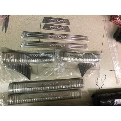 Bộ ốp bạc giẫm  TRONG + NGOÀI xe Huyndai Kona - 6776797 , 16788858 , 15_16788858 , 540000 , Bo-op-bac-giam-TRONG-NGOAI-xe-Huyndai-Kona-15_16788858 , sendo.vn , Bộ ốp bạc giẫm  TRONG + NGOÀI xe Huyndai Kona
