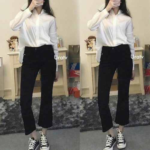 Quần jean nữ kiểu mới