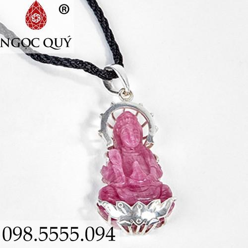 Mặt Dây Chuyền Phật Bà Quan Âm Ruby - 6773452 , 16786562 , 15_16786562 , 1899000 , Mat-Day-Chuyen-Phat-Ba-Quan-Am-Ruby-15_16786562 , sendo.vn , Mặt Dây Chuyền Phật Bà Quan Âm Ruby