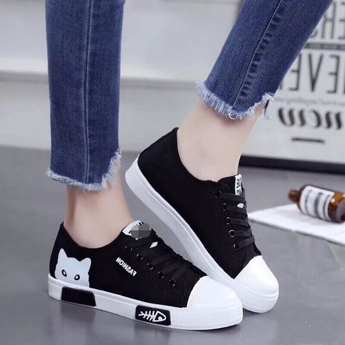 Giày sneaker nữ cổ thấp Mèo xinh siêu hot - 6759432 , 16773079 , 15_16773079 , 250000 , Giay-sneaker-nu-co-thap-Meo-xinh-sieu-hot-15_16773079 , sendo.vn , Giày sneaker nữ cổ thấp Mèo xinh siêu hot