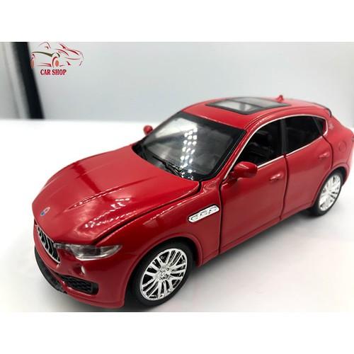 Mô hình xe ô tô Maserati Levante tỉ lệ 1:32 màu đỏ