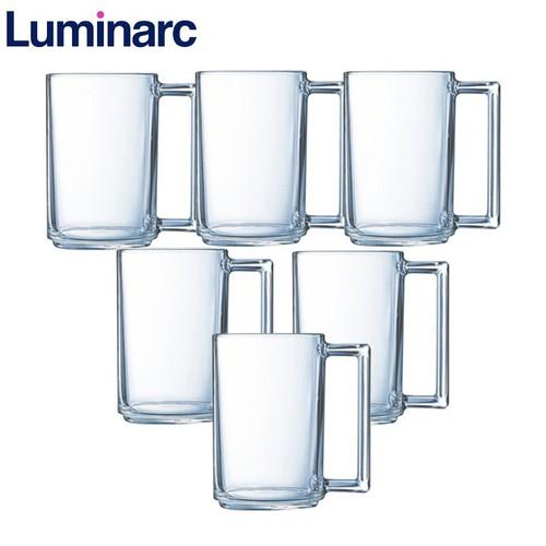 Bộ 6 ly thủy tinh Luminarc Fitness 320ml L8040-6
