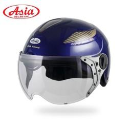 Mũ bảo hiểm nửa đầu có kính Asia MT109K chính hãng