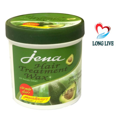 Kem Ủ Tóc Jena Hair Treatment Wax Vị Bơ - Thái Lan - 500g - 6762517 , 16778163 , 15_16778163 , 40000 , Kem-U-Toc-Jena-Hair-Treatment-Wax-Vi-Bo-Thai-Lan-500g-15_16778163 , sendo.vn , Kem Ủ Tóc Jena Hair Treatment Wax Vị Bơ - Thái Lan - 500g