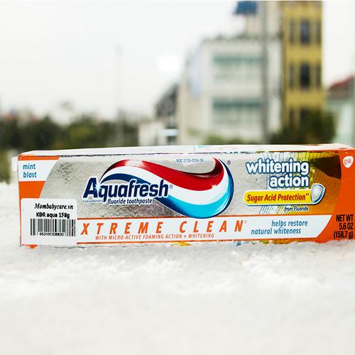 Kem đánh răng cho bé Aquafresh