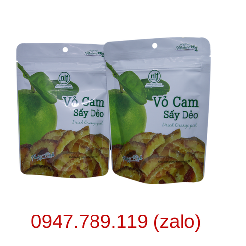 COMBO 3 HỘP CAM SẤY DẺO 75G