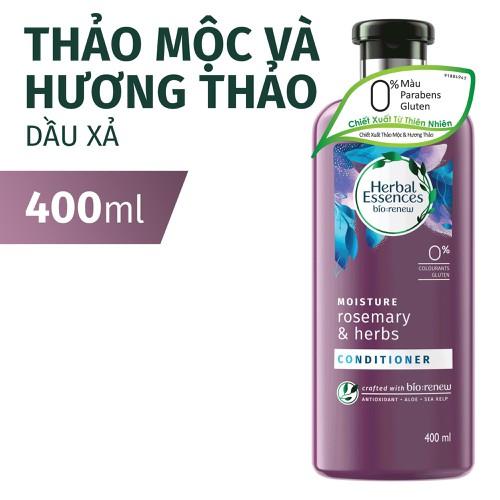 Dầu Xả Herbal Essences Thảo Mộc & Hương Thảo Chai 400ML