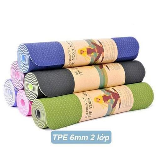 thảm tập yoga 2 mặt loại đẹp