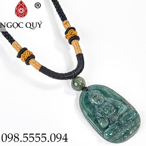 Mặt Dây Chuyền Phật Bản Mệnh A Di Đà Tuổi Tuất Hợi 3.6x2.3cm - Ngọc Quý Gemstones