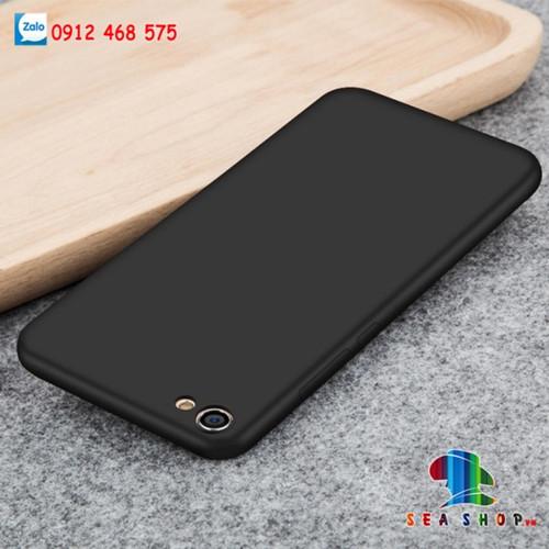 Ốp lưng Vivo Y66 silicon đen
