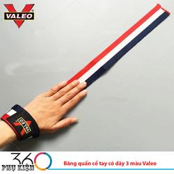 Băng quấn cổ tay có dây 3 màu Valeo