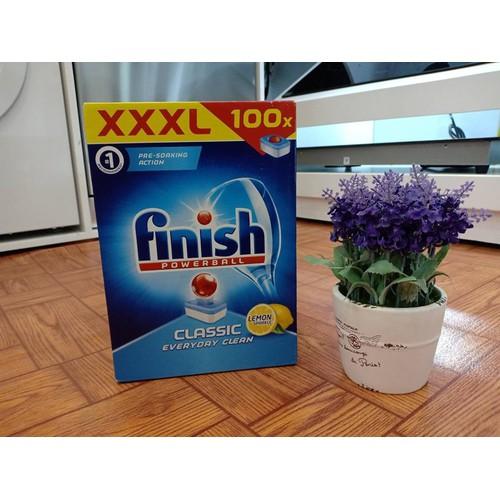Viên rửa bát siêu cao cấp FINISH 100 viên