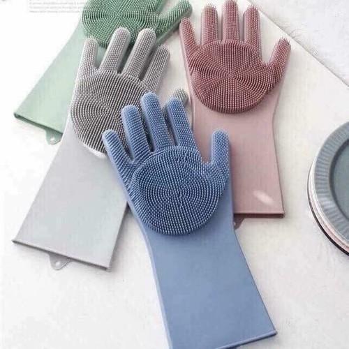 Găng tay rửa bát silicon