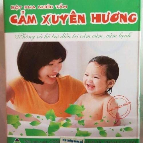 Bột tắm bé Cảm Xuyên Hương