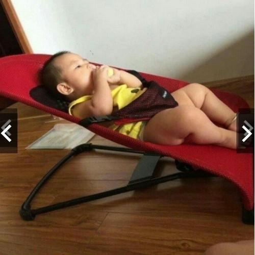 Ghế rung ăn bột 3 tư thế kèm bảo hiểm, gối đầu cho bé 2020