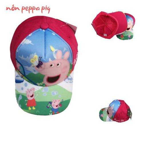 NÓN KẾT BÉ GÁI HÌNH HEO PEPPA PIG-7