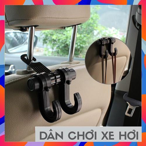Móc treo mini lưng ghế ô tô