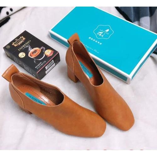 Giày boot nữ dáng Hàn Quốc